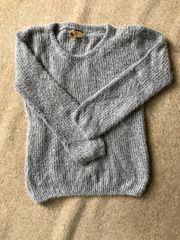Pullover Silber grau