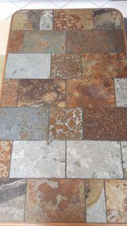 Verkaufe Eiche Wohnzimmertisch mit Graniteinlagen