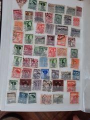verschiede Briefmarke in sehr gutem