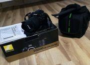 Nikon D3200 mit 18-105 mm