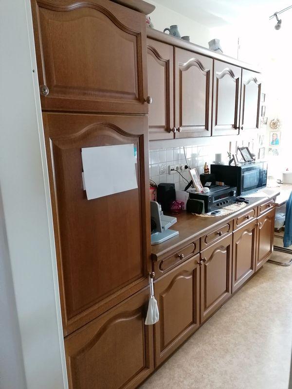 Gebrauchte Küchenzeile Eiche Rustikal 1