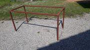 Tischgestell aus Stahlprofilrohr