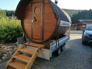 Sauna mieten Mobile sauna Kronach
