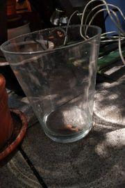 Pflanzentopf und Glass Topf Pflanzentopf