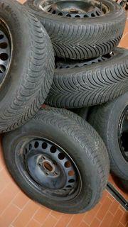 Winterräder Reifen VW Golf 5