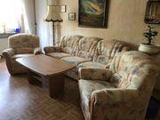 Wohnzimmer Couch Garnitur incl Tisch