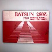 owner manual for Datsun 280