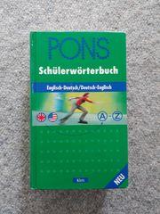 PONS Schülerwörterbuch Englisch - Deutsch Klett-Verlag