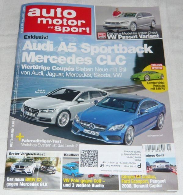 Auto Motor und Sport Heft