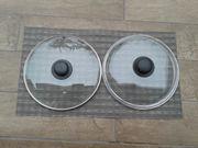 Drei Pfannendeckel 28 cm