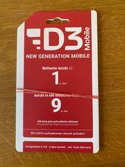 D3 Mobile SIM Karte 7