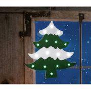 NEU LED Fensterbild Weihnachtsbaum Tannenbaum