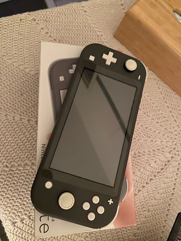 Nintendo Switch lite grau Top