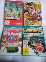 2x Wiiu spiele 2x Wii