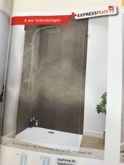 Duschglas 80x200 cm