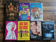 7 VHS-Kassetten