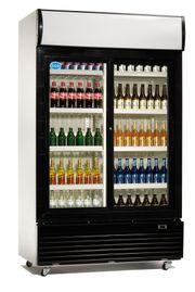 NEU Flaschenkühlschrank Glastürkühlschrank mit 2