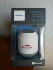 Philips BT50W tragbarer kabelloser Lautsprecher