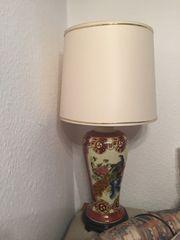 Lampe mit Ständer chinesische Art