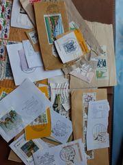 Briefmarken und Briefe Konvolut
