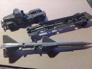 DDR NVA Militär Metallspielzeug