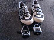 Shimano Schuhe plus Klickpedale fürs