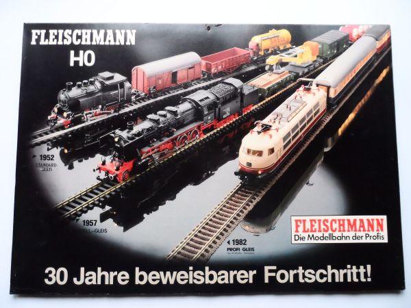 Fleischmann Eisenbahn - Auto Rallye - Spur H0