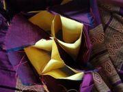 orientalische runde Kissenhülle zum füllen