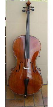 Gebrauchtes Cello Vollholz mit Zettel