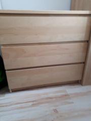 Malm Kommode 3 Schubladen Deckplatte