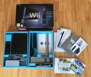 Original Nintendo Wii Konsole schwarz