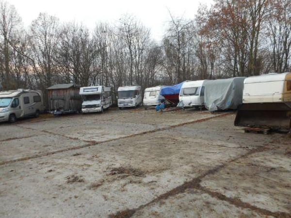 Abstellplatz Abstellplätze für Wohnwagen Wohnmobile
