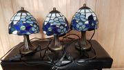 3 x Tiffany Nachttischlampe Nachttischleuchte