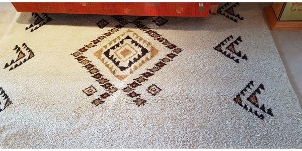 Berberteppich frisch gereinigt und versiegelt