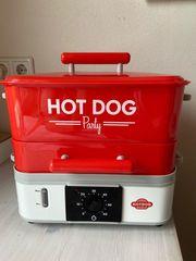 Hot Dog Party Steamer neuwertig