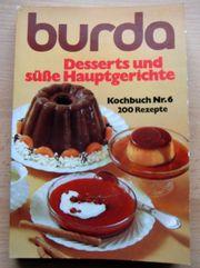 Burda Kochbuch Nr 6 Desserts