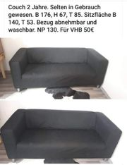 couch 2 Sitzer