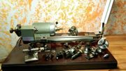 Uhrmacherdrehmaschine 8mm Boley Leinen Drehmaschine