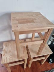 Ikea 3 kleine Holz Tische