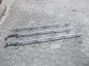 3 Wurstgehänge Fleischgehänge mit Rohrbahnhaken