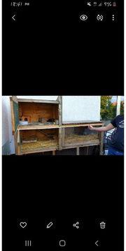 Hasenstall Kleintierkäfig stall Meerschweinchenhaus