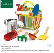 Kinder Gartengeräte Set von Gardenline