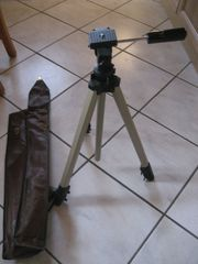 3 Bein Kamera-Stativ mit Teleskop-Auszug