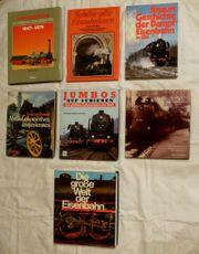 7 Eisenbahnbücher Jahrgang 1979 80