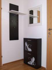 Set Garderobe Schuhschrank Spiegel