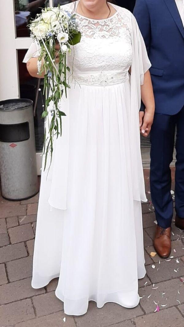 Hochzeitskleid umstandsmode