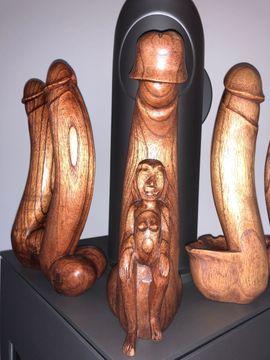 Bild 4 - Holz Dildo - Linz