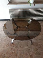 Rauchglas Tisch