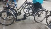 Senioren Transport-Fahrrad zu verkaufen