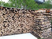 Brennholz Hartholz Buche 1m gespalten